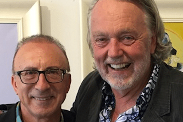 Elliot Goblet Corporate Entertainer Melbourne and Mike Brady