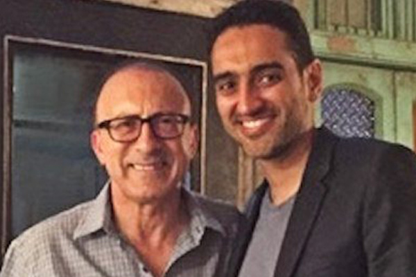 Elliot Goblet Corporate Entertainer Melbourne and Waleed Aly